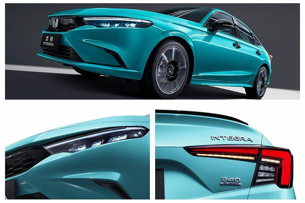 中國版新Honda Integra透過更銳利的頭燈、蜂巢式水箱護罩、更動感的保桿...