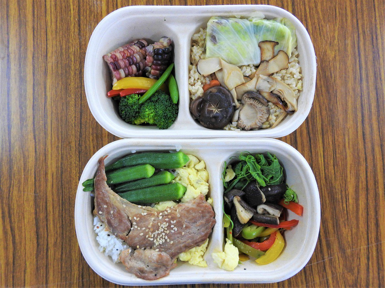 三餐均衡飲食,加上少鹽、少油及少糖,有助於克服更年期。 圖/聯合報資料照片