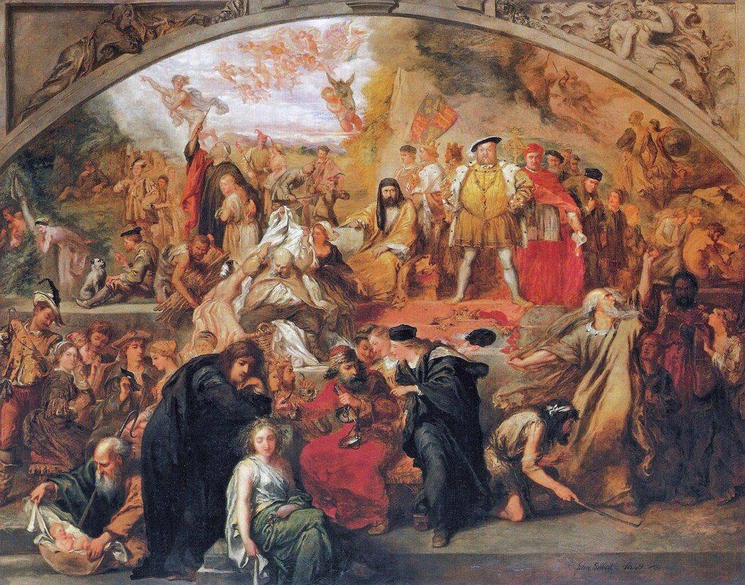 「後人所想像的中世紀晚期英格蘭,很大程度受到莎士比亞筆下人物和語言的影響。」圖為...