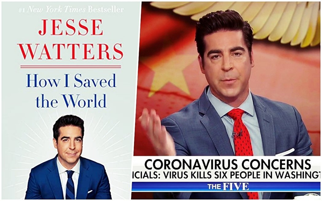 福斯新聞主持人傑西.華特斯(Jesse Watters)於今年7月推出回憶錄《H...