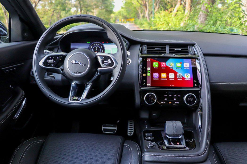 小改款Jaguar E-Pace換上全新11.4吋Pivi Pro多媒體觸控式顯...