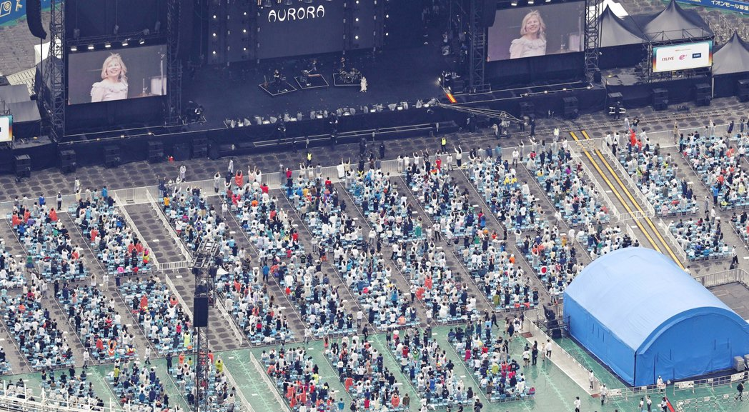 日後想在日本參加演唱會、音樂祭,完成疫苗接種將漸漸變成必要條件。圖為《SUPER...