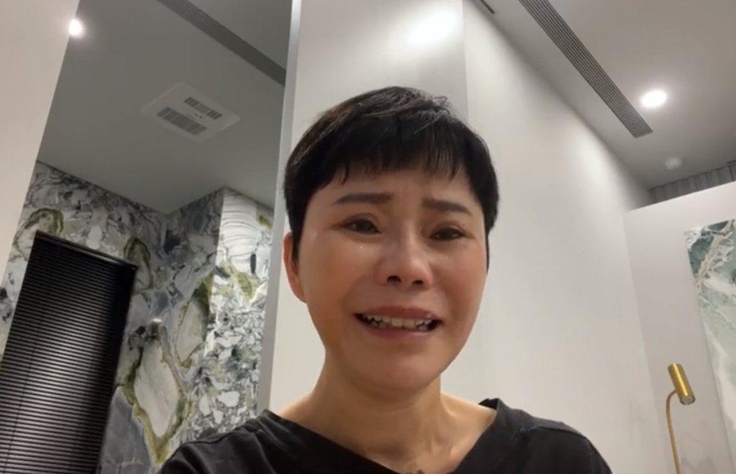 詹雅雯表示換藥、開刀都沒讓病情好轉。圖/摘自臉書