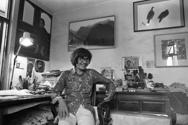 席德進的肖像畫在美麗外,也訴說著多元台灣記憶。圖為畫家席德進。 圖/聯合報系資料照片