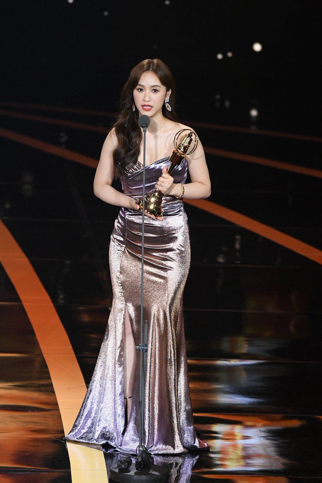 吳姍儒在金鐘獎上已走出自己一條路。圖/三立電視提供