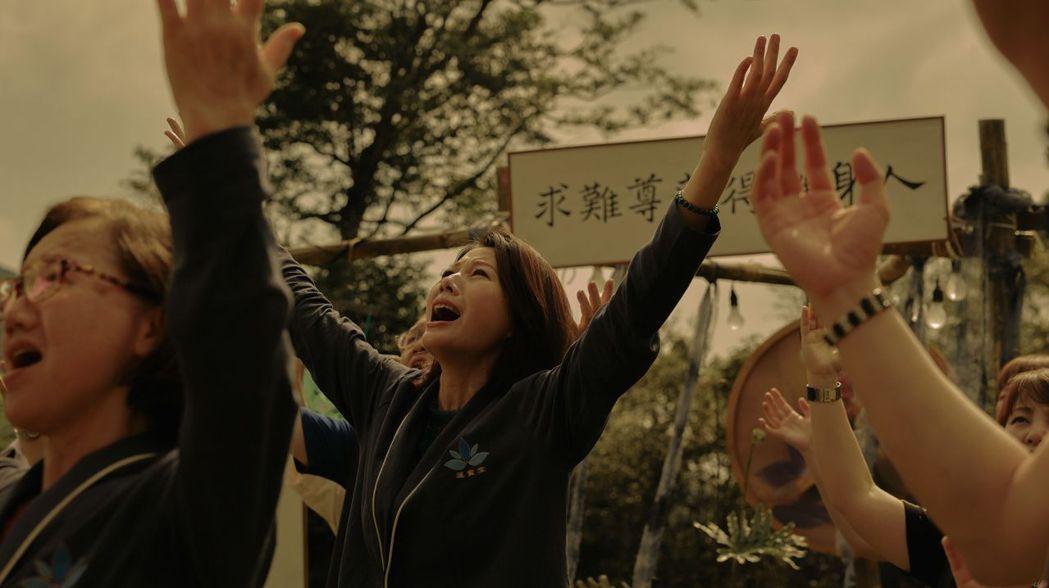 丁寧(中)在「神的母親」演出驚人。圖/高雄電影節提供