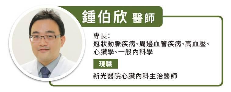 新光醫院心臟內科主治醫師鍾伯欣 圖/何宜庭 Heho提供