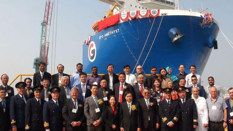 台船承接新加坡GPO(GREENLAND PETROLEUM OPERATION)公司委託生產製造四艘特殊舉重船,傳因工程瑕疵賠償高達上億元。圖/聯合報系資料照片