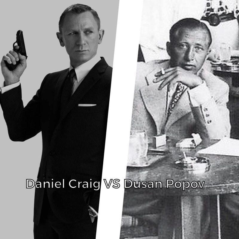 英國男星丹尼爾.克雷格告別飾演15年的詹姆斯龐德,他的007首部曲「皇家夜總會」取材自二戰時期雙面間諜波波夫的真實事件。圖/取自Supreme Headquarters Allied Expeditionary Force