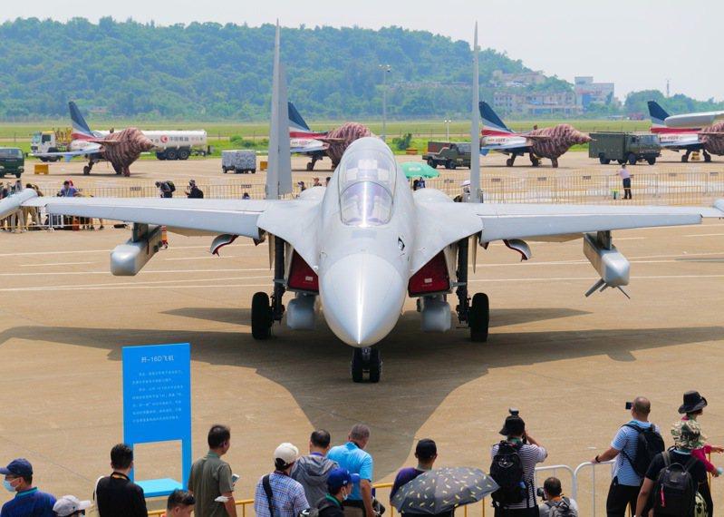 第十三屆中國國際航空航天博覽會9月28日在珠海國際航展中心開幕。中新社