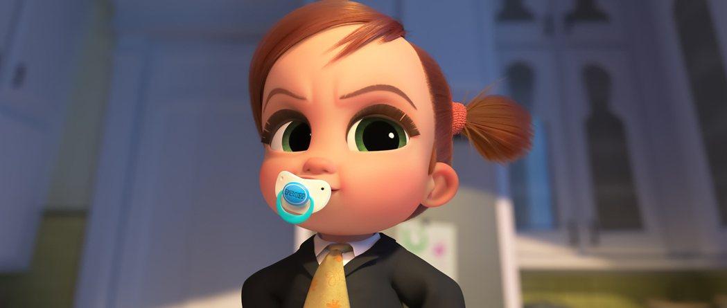 蒂娜寶寶是「寶貝老闆:家大業大」的關鍵角色。圖/UIP提供