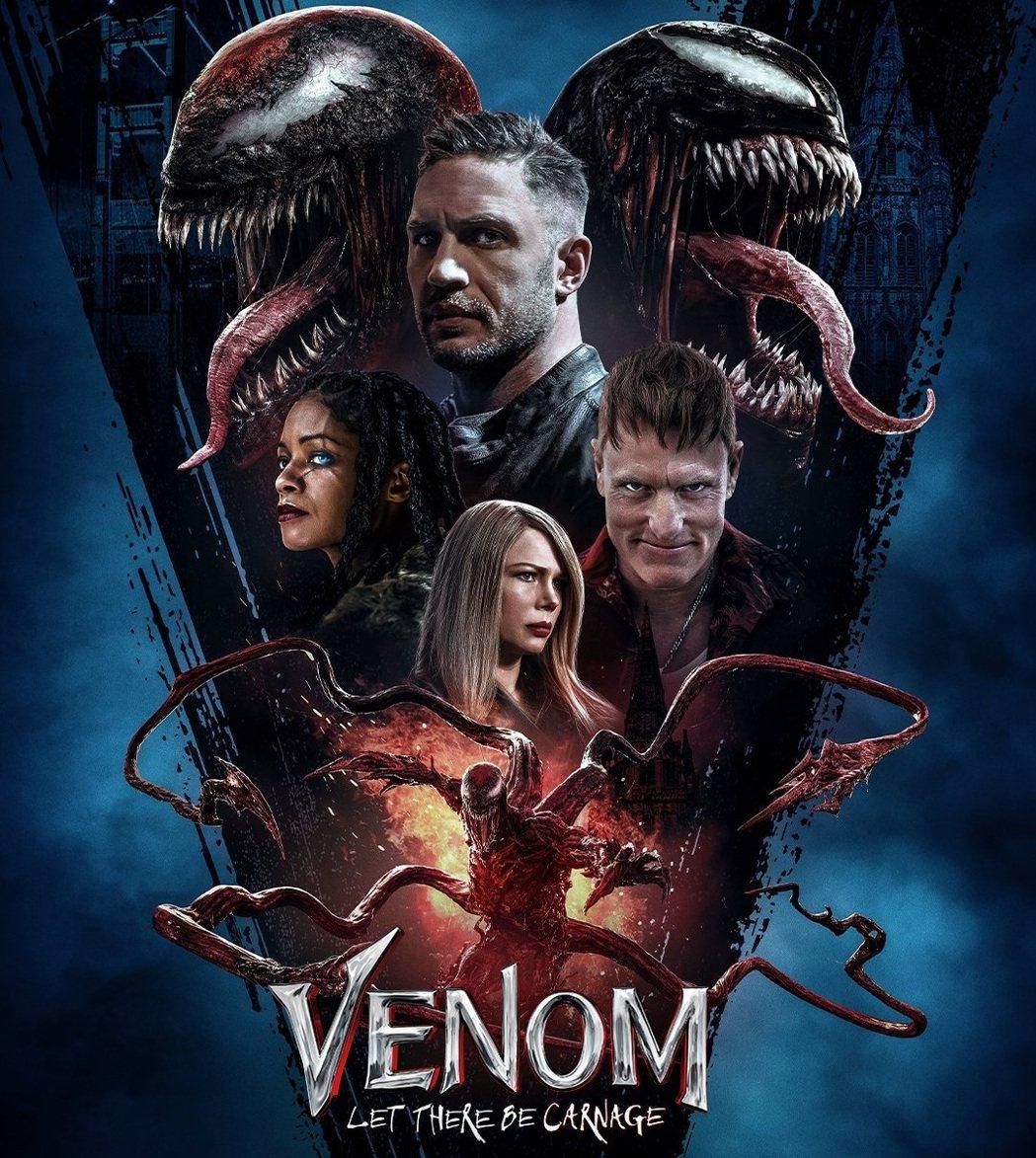 「猛毒2:血蜘蛛」北美上映首周末再度開出票房紅盤。圖/摘自imdb