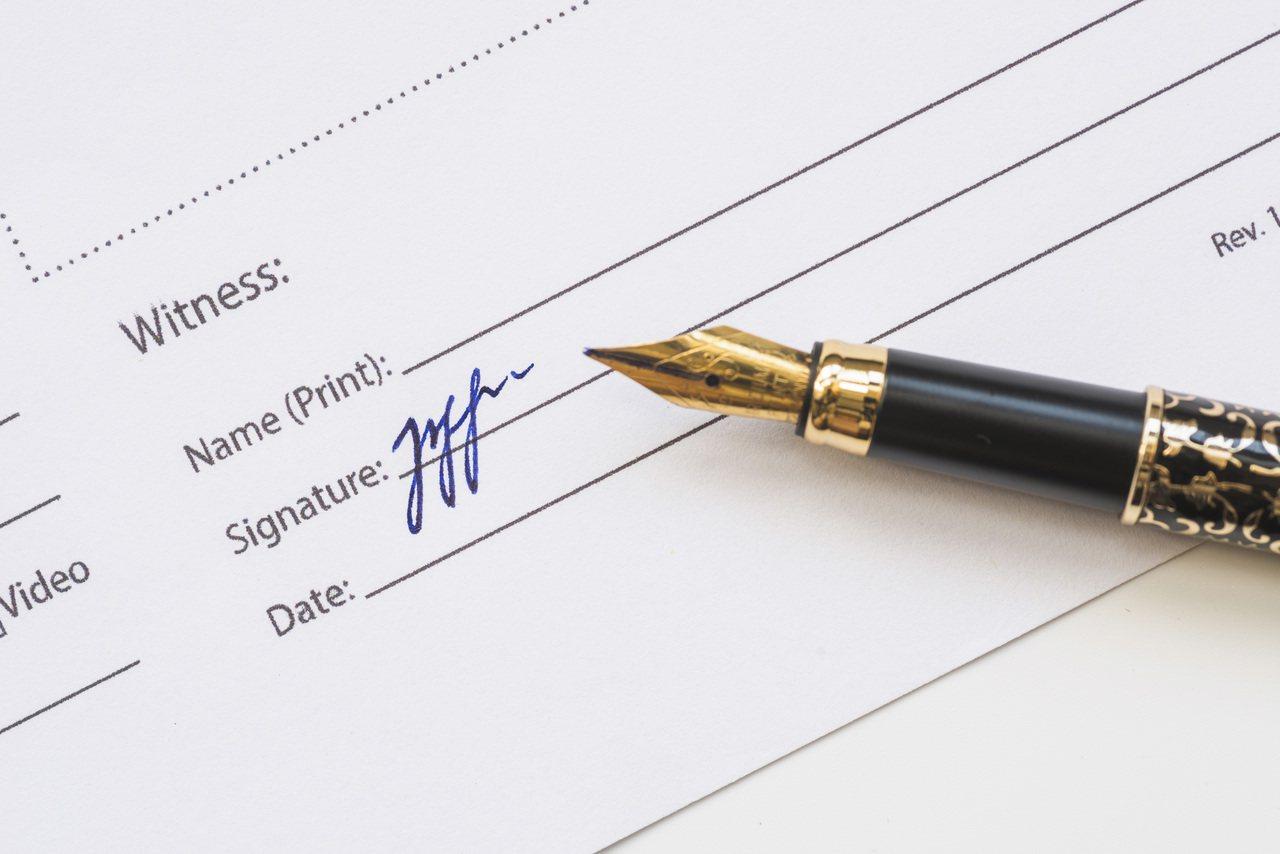 所有的遺囑,只要符合法定要式,統統都合法。 圖/freepik