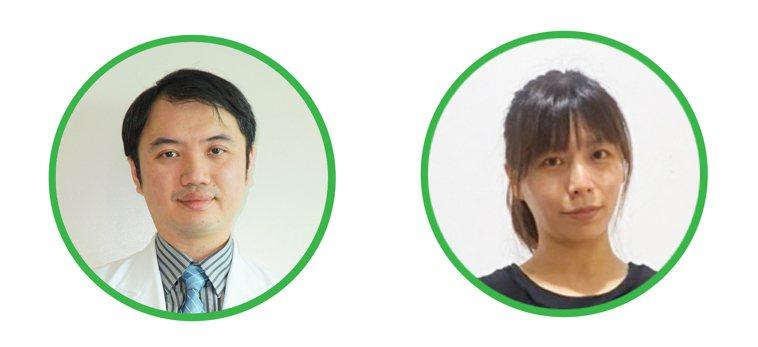 圖/馨蕙馨醫院兒童氣喘過敏科主任馮文彬、身心治療瑜珈林淑鈴老師
