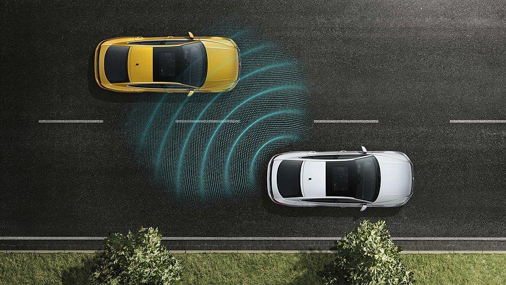 台灣福斯汽車同步限時推出Life車型升級Lane Assist車道偏移警示系統跟...