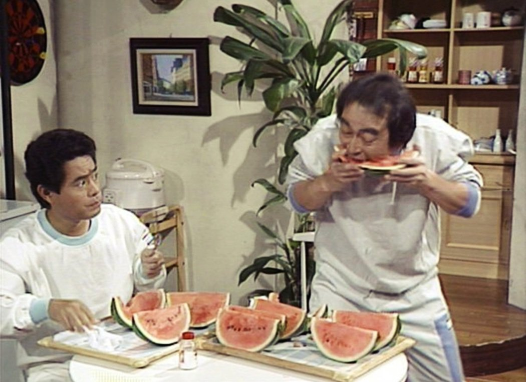 志村健起初是加藤茶(左)的跟班,後來志村的風頭逐漸超過了加藤,不過兩人一直是合作...