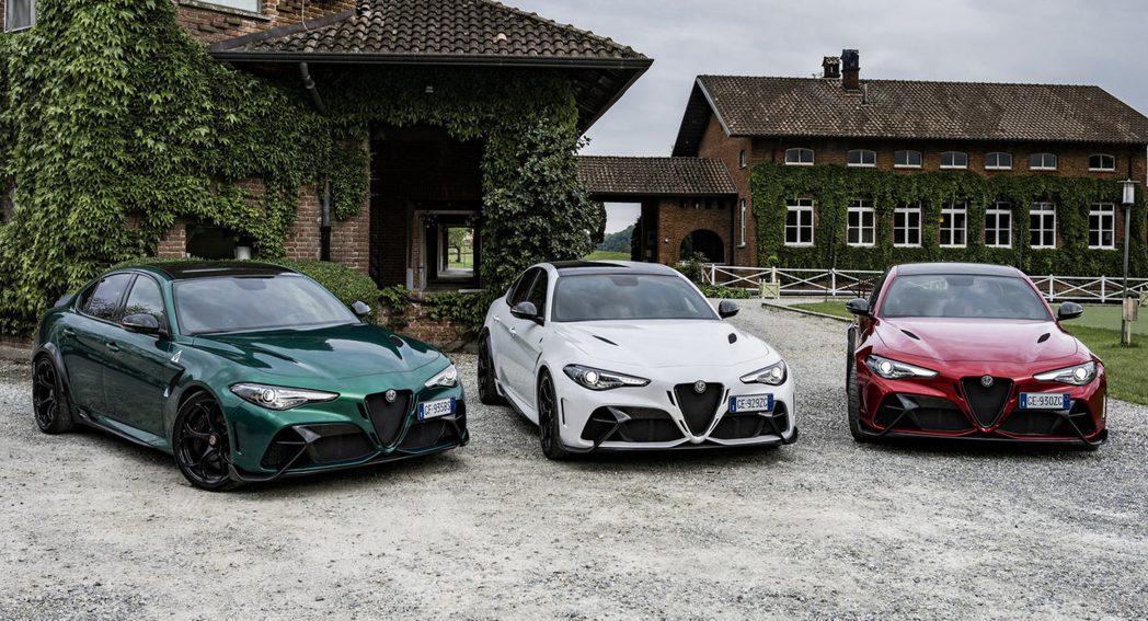 在發表約1年半的時間,Alfa Romeo宣布,限量500輛的Giulia GT...