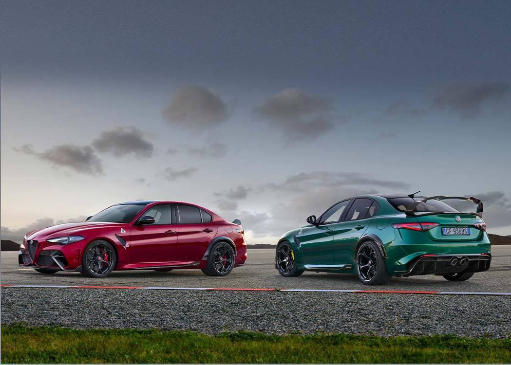 Alfa Romeo Giulia GTA/GTAm限量500輛完售。 摘自Al...