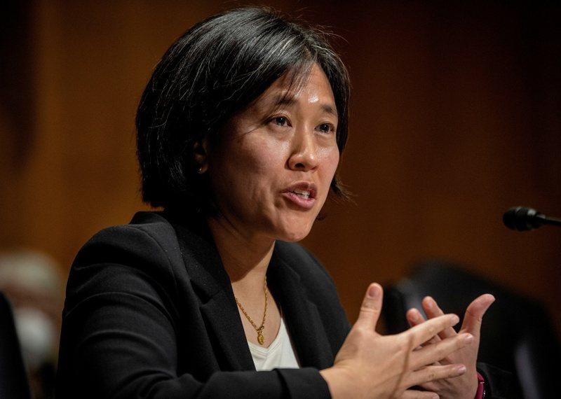 美國貿易代表戴琪4日在戰略與國際研究中心發表拜登政府的對中國貿易政策,她的演講,未演先轟動。路透資料照片