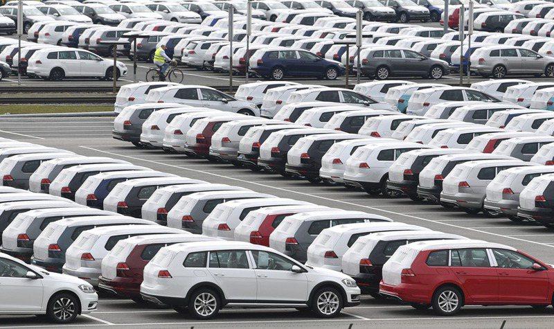 英國9月新車銷量年減35%,創23年新低紀錄。圖/美聯社