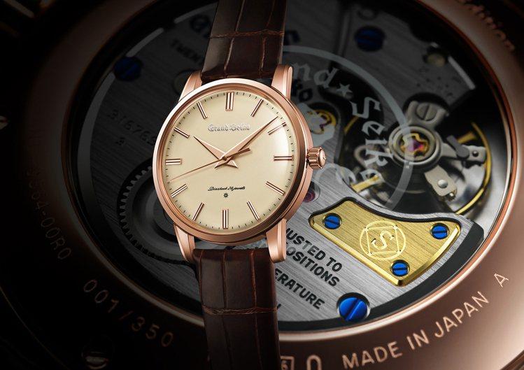 Grand Seiko 140周年紀念限定SBGW260腕表,18K玫瑰金表殼,...