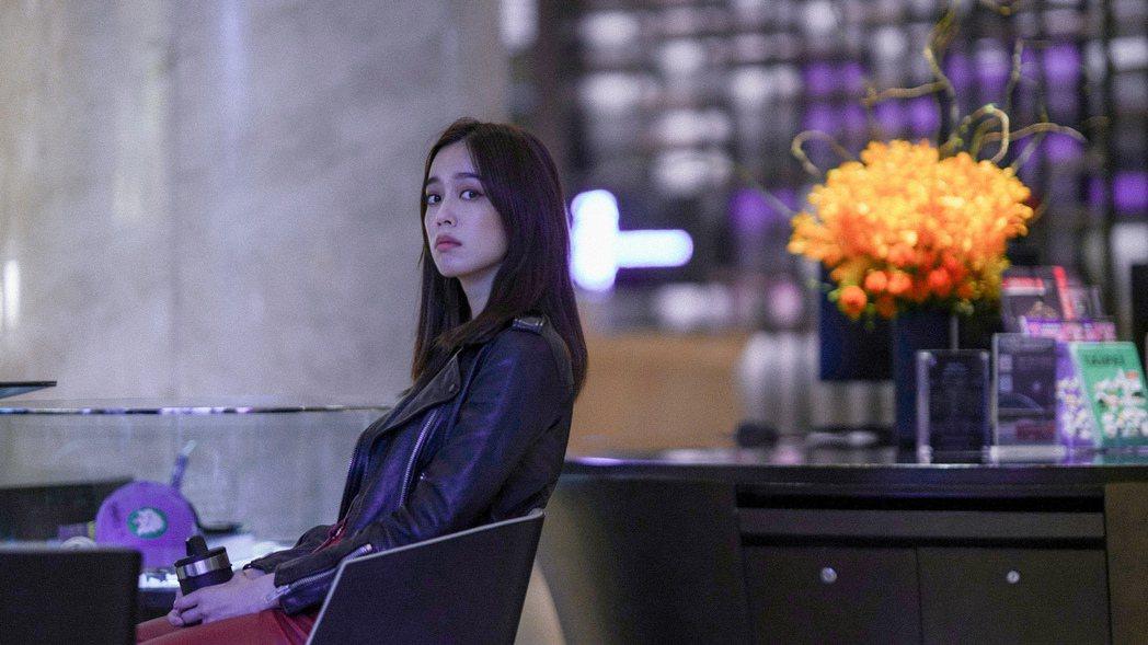 陳庭妮在「青春弒戀」演出豪放的女網紅,有不少情慾演出。圖/金馬執委會提供