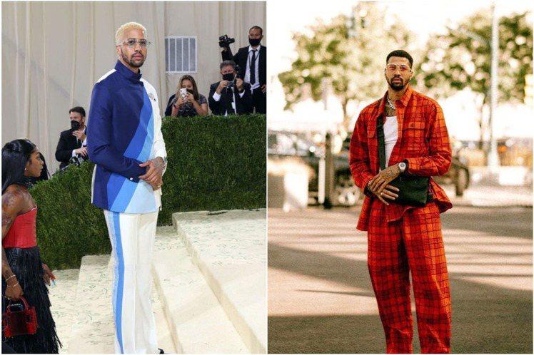 Miles Chamley-Watson還曾參加今年的2022春夏紐約時裝周、2...