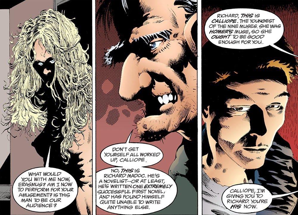 弗賴伊不需要卡利俄佩了,便把以為自己終於可以重獲自由的卡利俄佩,給了年輕的馬多克。 圖/DC Comics