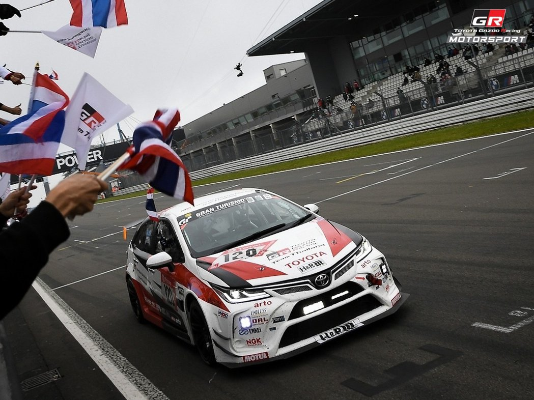 Toyota Gazoo Racing Thailand連續兩年以Corolla...