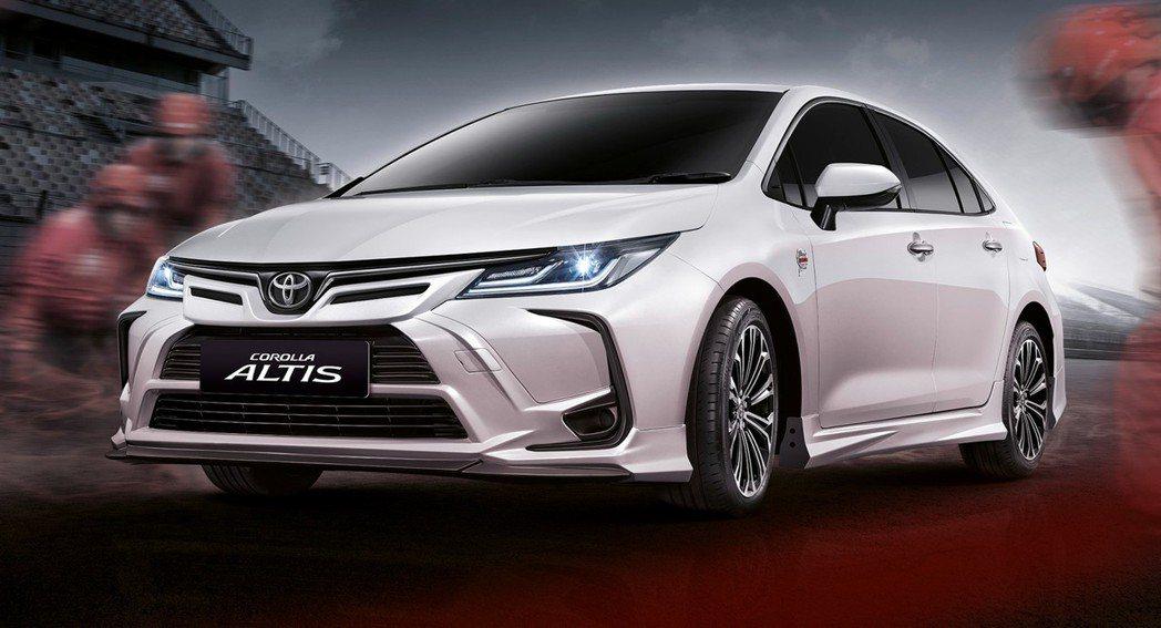 Toyota Corolla Altis紐柏林特仕版。 摘自Toyota Tha...