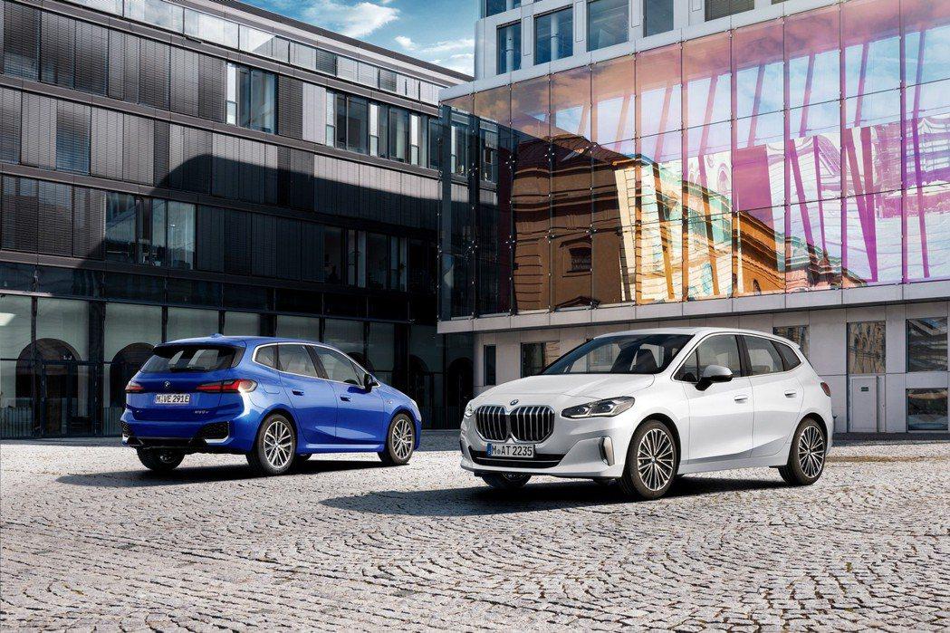 第二代BMW 2 Series Active Tourer (U06)。 摘自B...