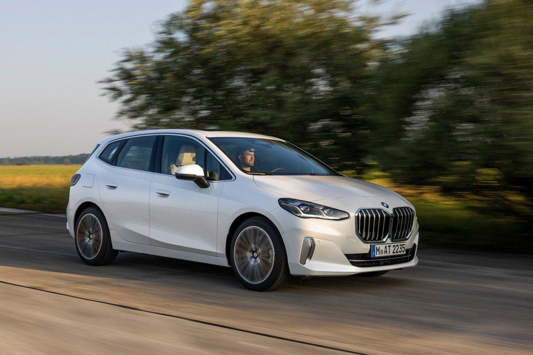大改款BMW 2 Series Active Tourer的四種動力車型皆是配置...
