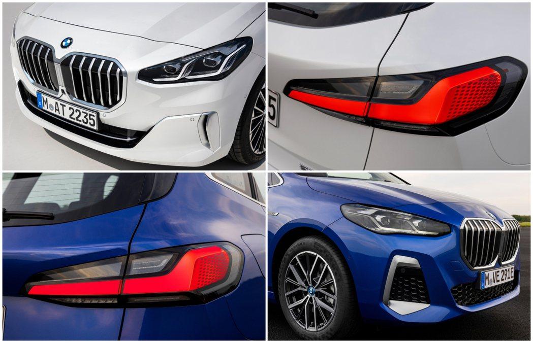 第二代BMW 2 Series Active Tourer (U06) 外觀特點...