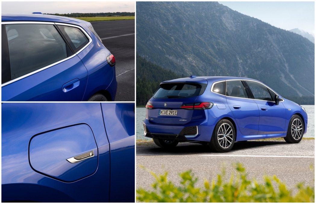 大改款BMW 2 Series Active Tourer插電版本若使用純電模式...