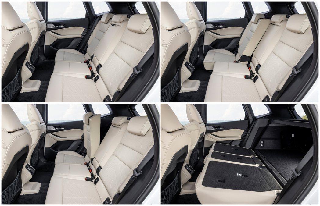 第二代BMW 2 Series Active Tourer (U06) 後排座椅...