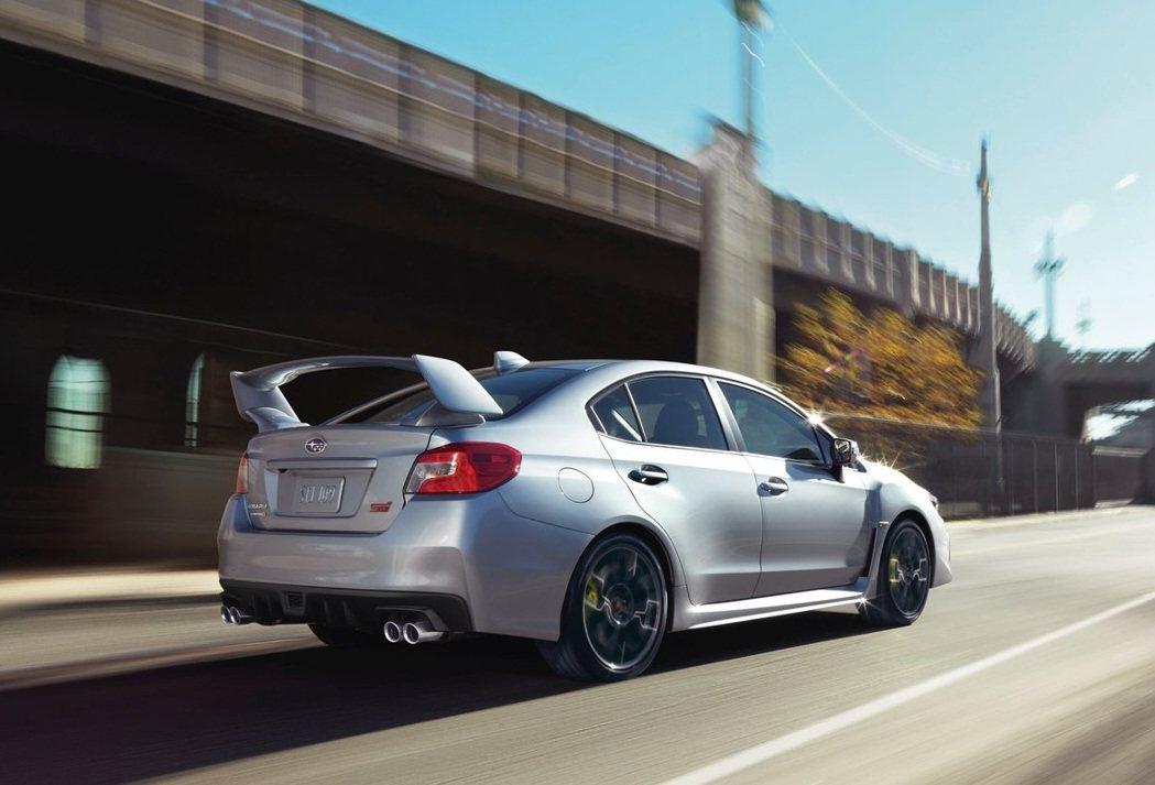 Subaru WRX STI。 摘自Subaru