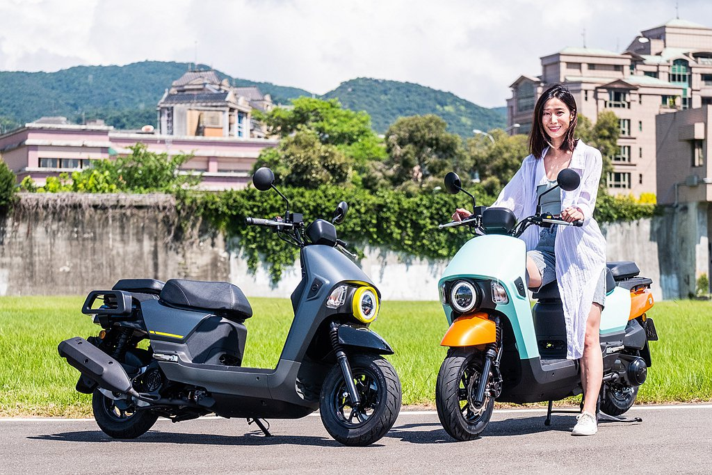 SYM推出多功能生活取向定位的全新車款「4MICA」,上市首購價79,800元(...