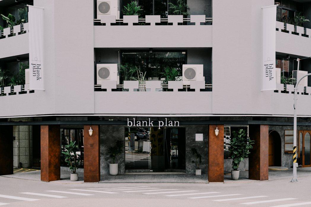「留白計畫 blank plan」位於台中國立台灣美術館附近,預計於10月16日...