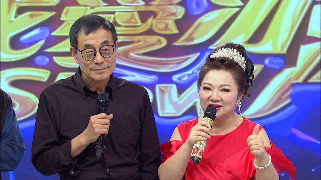 劉家昌(左)日前上中視「我愛冰冰Show」。圖/中視提供