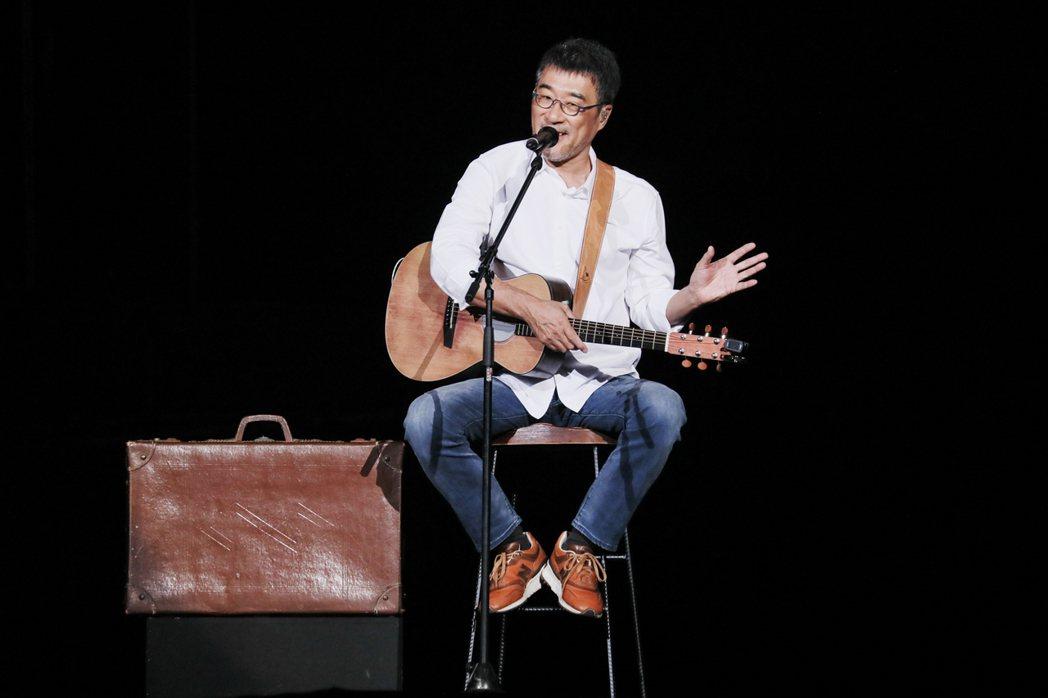 李宗盛去年在高雄巨蛋開唱,演出叫好又叫座。圖/相信音樂提供