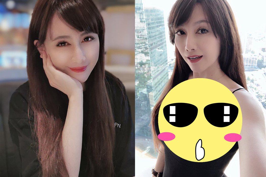 陳子璇曬辣照,隔空喊「親愛的寶貝」。 圖/擷自facebook。