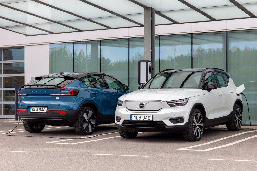 Volvo Recharge電動車系今年前三季銷售占比已達總銷量的24.9%。 ...