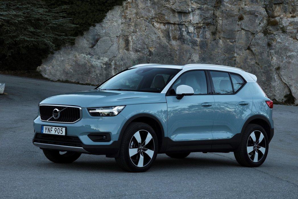 Volvo XC40在今年前三季的銷量累積達到了156,920輛。 摘自Volv...