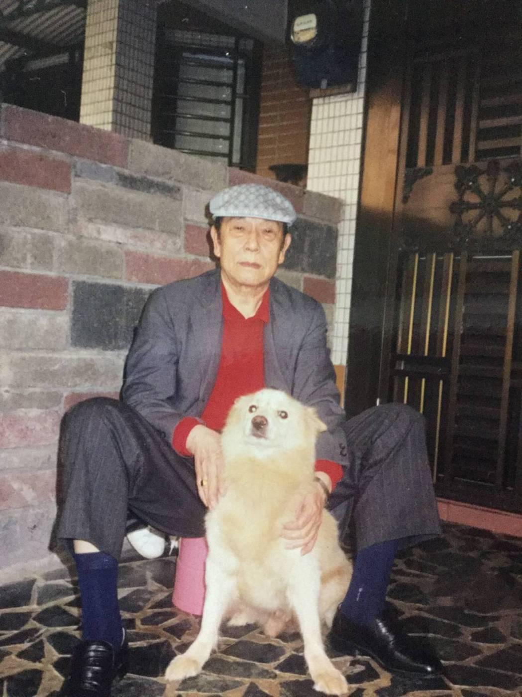 蔡詩萍的父親。圖/蔡詩萍提供