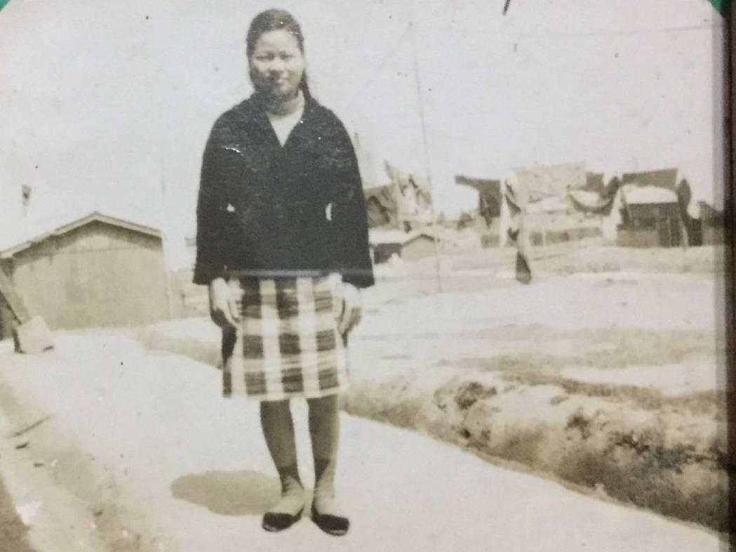 蔡詩萍的母親當年帶著幼子隨先生到金門。圖/蔡詩萍提供