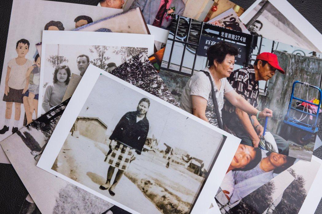 蔡詩萍書寫父親,其實是寫父輩一整代流離失所的人。記者沈昱嘉/攝影
