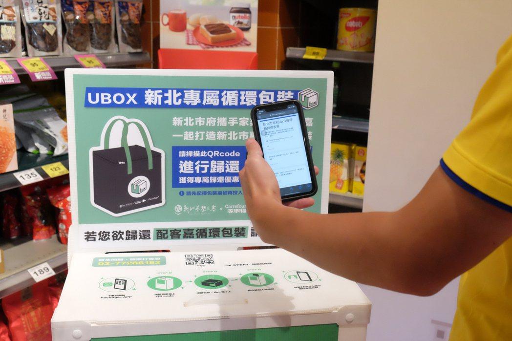歸還Ubox時掃描QRcode即可獲得限量1200份的百元折價優惠券,送完為止。...