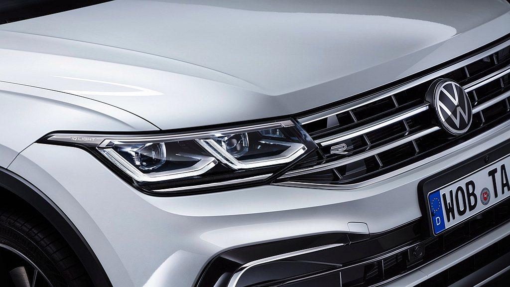 福斯Tiguan Allspace全車系標配 IQ.LIGHT智慧燈組LED M...