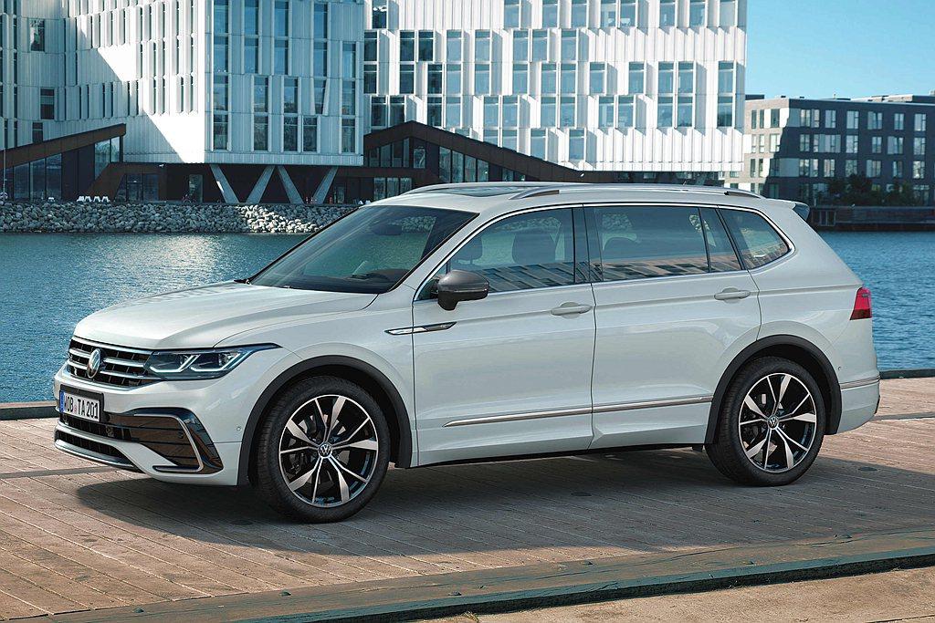 台灣福斯汽車提供福斯Tiguan Allspace全車系4年新車品質保固與適用長...
