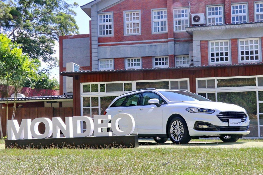 Ford Mondeo Wagon推出2022年式新車,首度在旅行車導入油電動力...